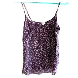 Wilfred silk tank